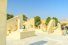 Jantar Mantar Royalty Free Stock Photography