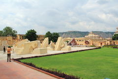 Jantar Mantar in Jaipur. Royalty Free Stock Images