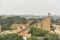The Jantar Mantar monument in Jaipur, Rajasthan