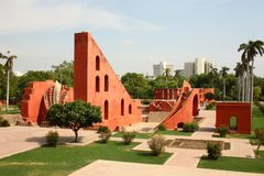 Jantar Mantar, New Delhi Stock Afbeeldingen