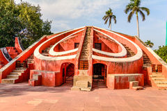 The Jantar Mantar in New Delhi Royalty Free Stock Images