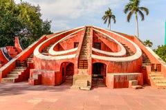 The Jantar Mantar in New Delhi Royalty Free Stock Images