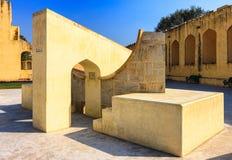 Jantar Mantar observatory complex in Jaipur, Rajasthan, India, A Royalty Free Stock Photos