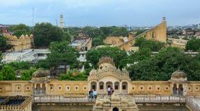 Jantar Mantar observatory complex in Jaipur Royalty Free Stock Photos
