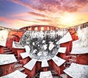 Jantar Mantar observatory Royalty Free Stock Image