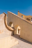 The Jantar Mantar observatory in Jaipur. The great observatory of Jaipur, India Royalty Free Stock Photography