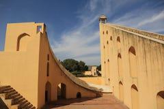 Jantar Mantar observatory (Jaipur) Stock Image
