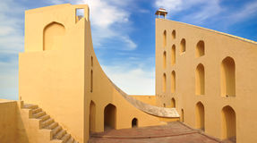 Jantar Mantar Observatory. Jaipur, India Royalty Free Stock Photo