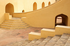 Jantar Mantar Observatory. Jaipur, India Royalty Free Stock Images