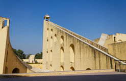 Jantar Mantar observatory in Jaipur Royalty Free Stock Images