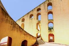 Jantar Mantar Observatory in Jaipur Stock Photo