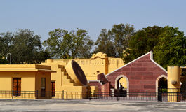 Jantar Mantar Observatory Jaipur Rajasthan India Royalty Free Stock Photos
