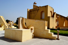 Jantar mantar observatory Jaipur Rajasthan India Royalty Free Stock Photo