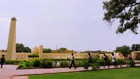 Jantar mantar Timelapse, Jaipur Ινδία απόθεμα βίντεο