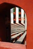 Jantar Mantar von Delhi-Indien. lizenzfreie stockbilder