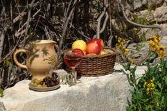 Jantar mediterrâneo 2 Imagens de Stock Royalty Free