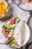 Jantar mexicano do estilo fotos de stock royalty free