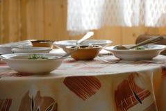 Jantar no estilo rural Imagem de Stock Royalty Free