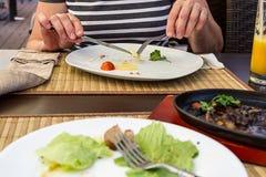 Jantar para dois Fotografia de Stock