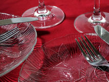 Jantar para dois Imagem de Stock Royalty Free