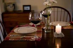 Jantar para dois Foto de Stock Royalty Free