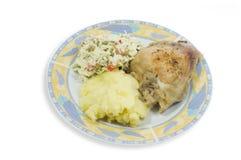 Jantar polonês Fotos de Stock