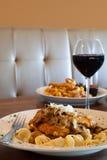 Jantar recentemente preparado de Marsala da galinha Foto de Stock Royalty Free