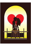 Jantar romântico Imagem de Stock Royalty Free