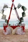 Jantar romântico Foto de Stock