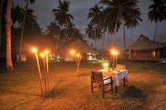 Jantar romântico Imagem de Stock