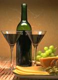 Jantar romântico para dois Imagem de Stock Royalty Free
