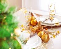 Jantar romântico do feriado Foto de Stock