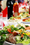 Jantar saboroso Fotos de Stock Royalty Free