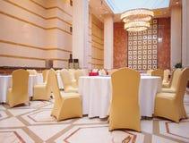 Jantar salão do hotel Foto de Stock