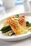 Jantar Salmon Imagens de Stock Royalty Free