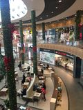 Jantar Slupsk mall centre, Poland Stock Photography