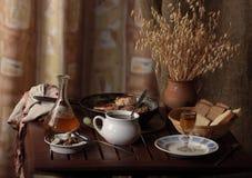 Jantar-tabela Foto de Stock
