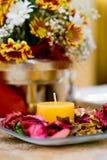 Jantar table01 Imagens de Stock