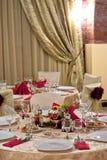 Jantar table06 Imagens de Stock