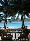 Jantar tropical Foto de Stock