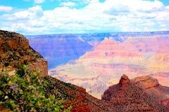 Jante de sud de parc national de Grand Canyon Images stock