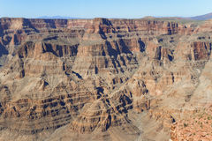 Jante occidentale de Grand Canyon, Arizona Photo libre de droits