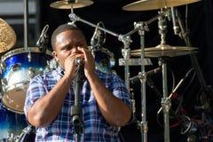 Jantovious Willis no ` s SummerStage do Central Park - 8/13/2017 Fotografia de Stock