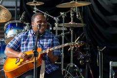 Jantovious Willis no ` s SummerStage do Central Park - 8/13/2017 Fotografia de Stock Royalty Free