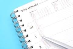Januar 2008 Stockfotografie