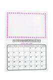 Januar 2009-Kalender Lizenzfreie Stockbilder