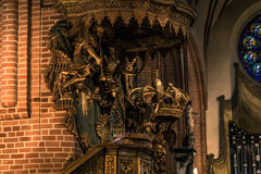 21. Januar 2017: Dekoration der Kathedrale von S Stockbild
