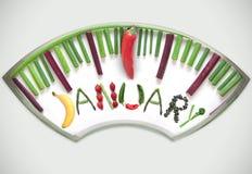 Januar-Diätkonzept Lizenzfreies Stockbild