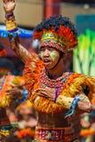 24. Januar 2016 Iloilo, Philippinen Festival Dinagyang Unid Lizenzfreie Stockfotografie