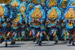 24. Januar 2016 Iloilo, Philippinen Festival Dinagyang Unid Stockfotos